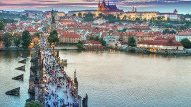 Prag von oben 63% günstiger ab 11,65€ inklusive Frühstück !