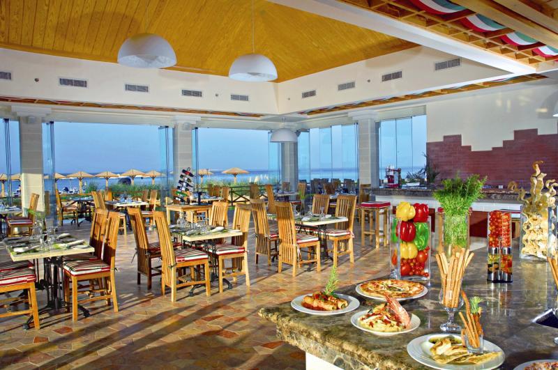 Restaurant mit Meerblick günstiger Luxusurlaub in Hurghada