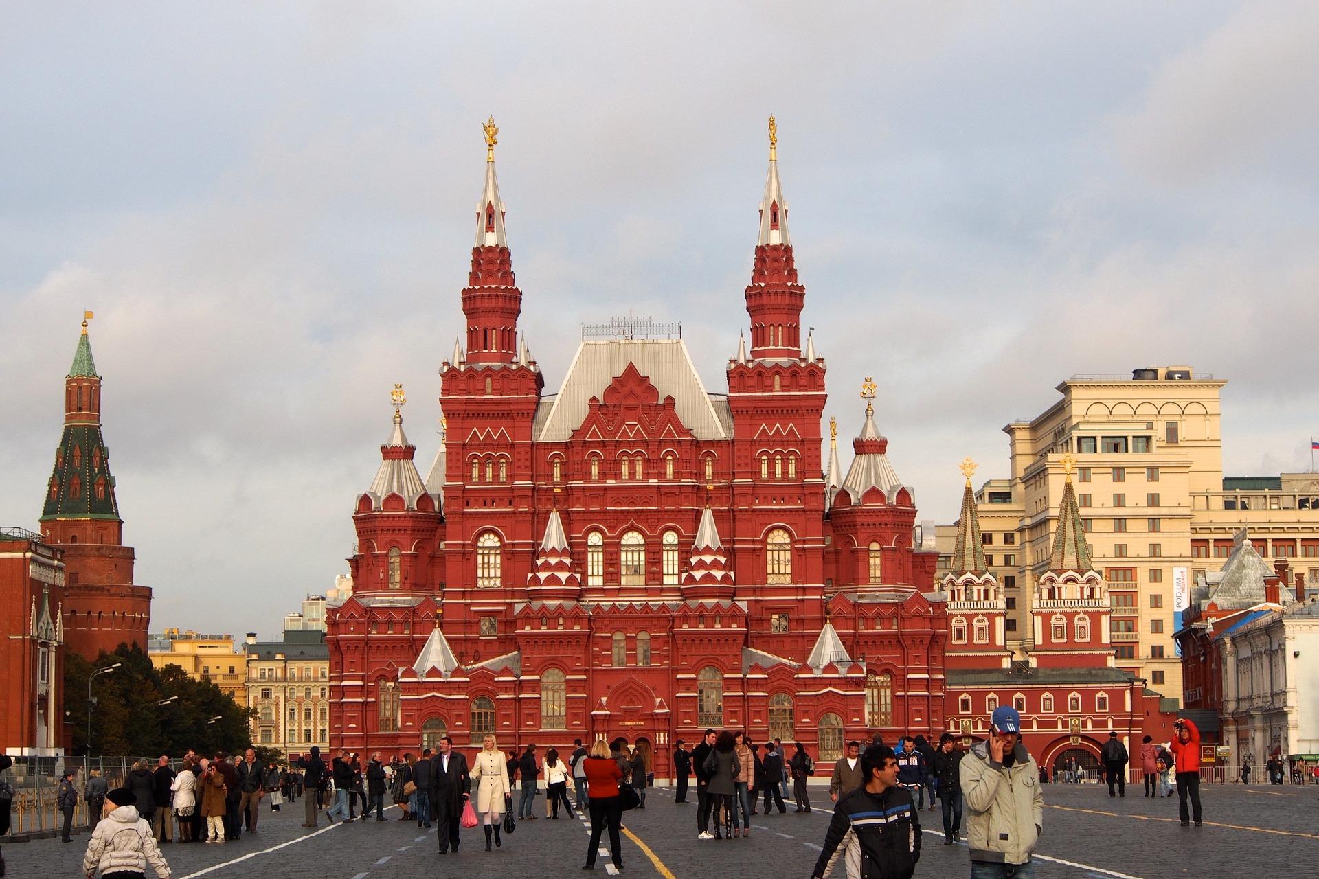 Sehenswüridgkeit während de nach Moskau izmailovo-kremlin