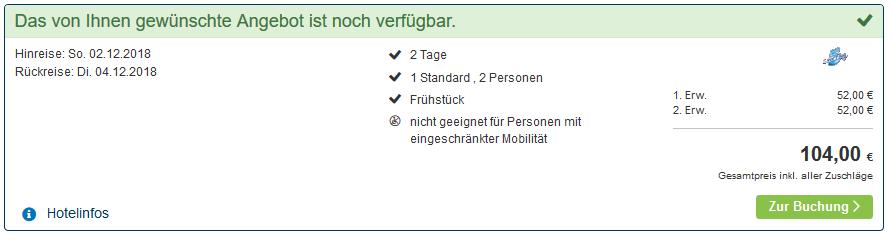 Screenshot Deal Hafenrundfahrt Rotterdam Hotels ab 26,00€ die Nacht