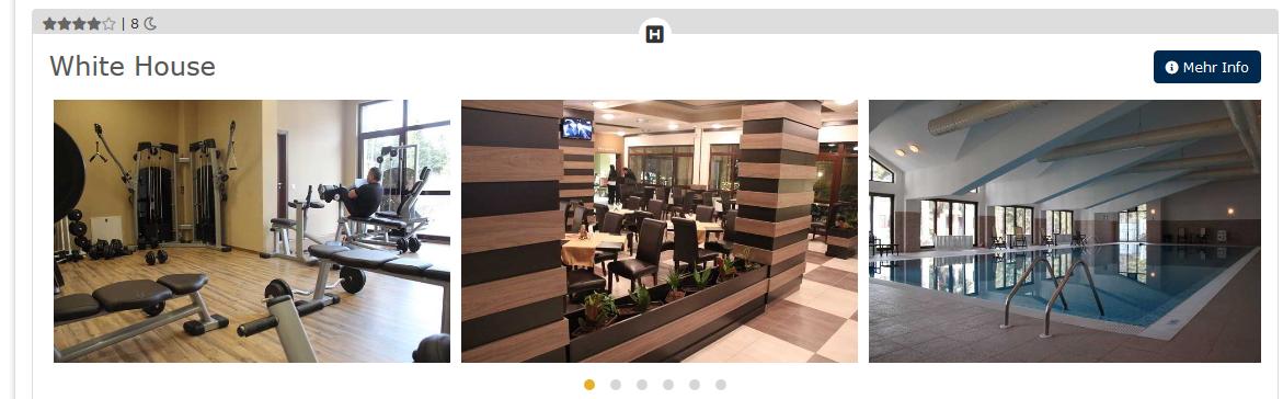Screenshot Hotel in Borovets 8 Nächte Ski und Winterurlaub in Bulgarien