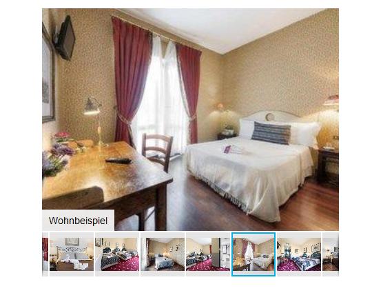 Screenshot Hotelzimmer Beispiel Eine Woche Rom günstig ab 176,00€ - Flug & Hotel