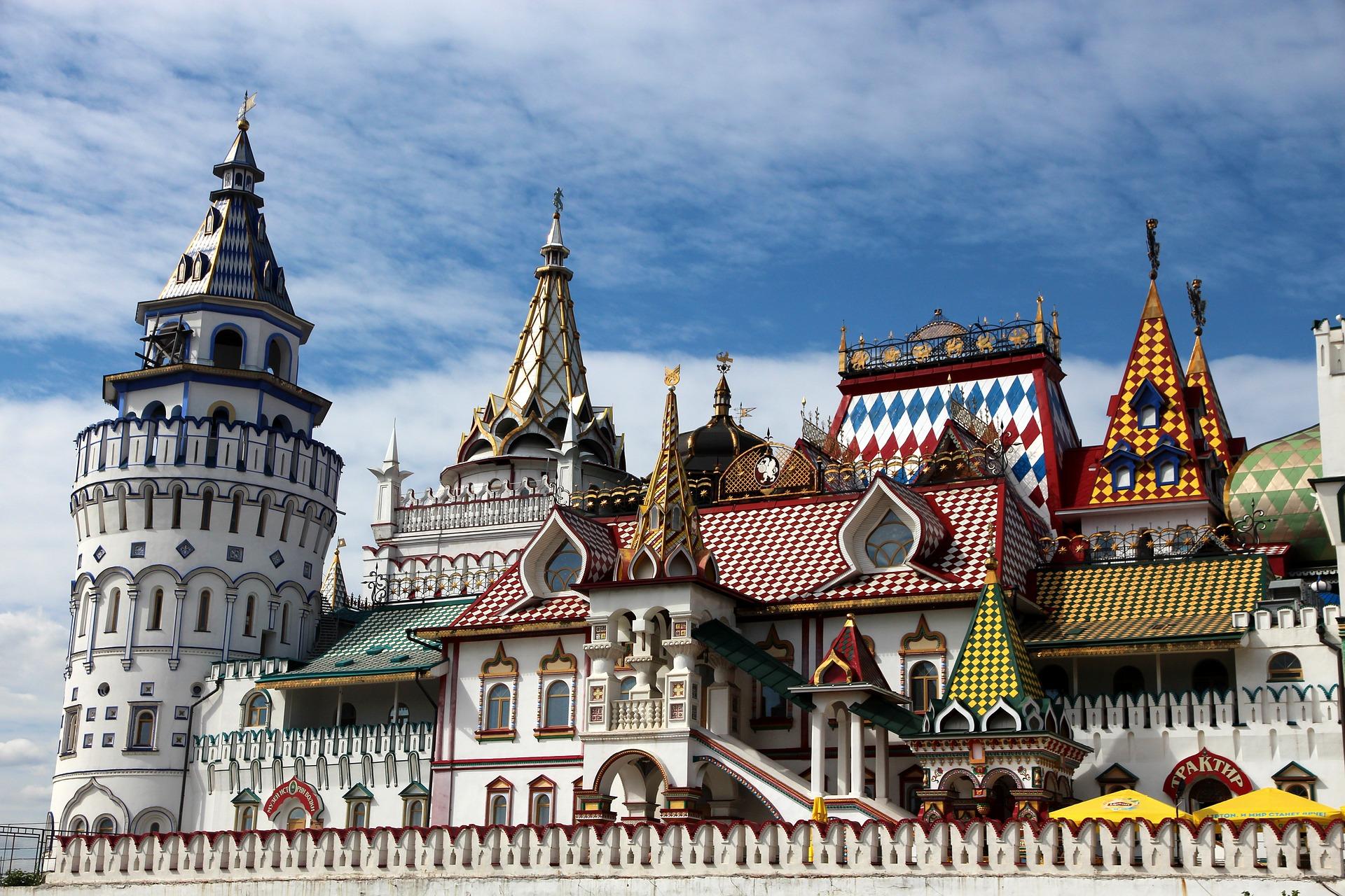 Sehenswüridgkeit während  nach Moskau izmailovo-kremlin