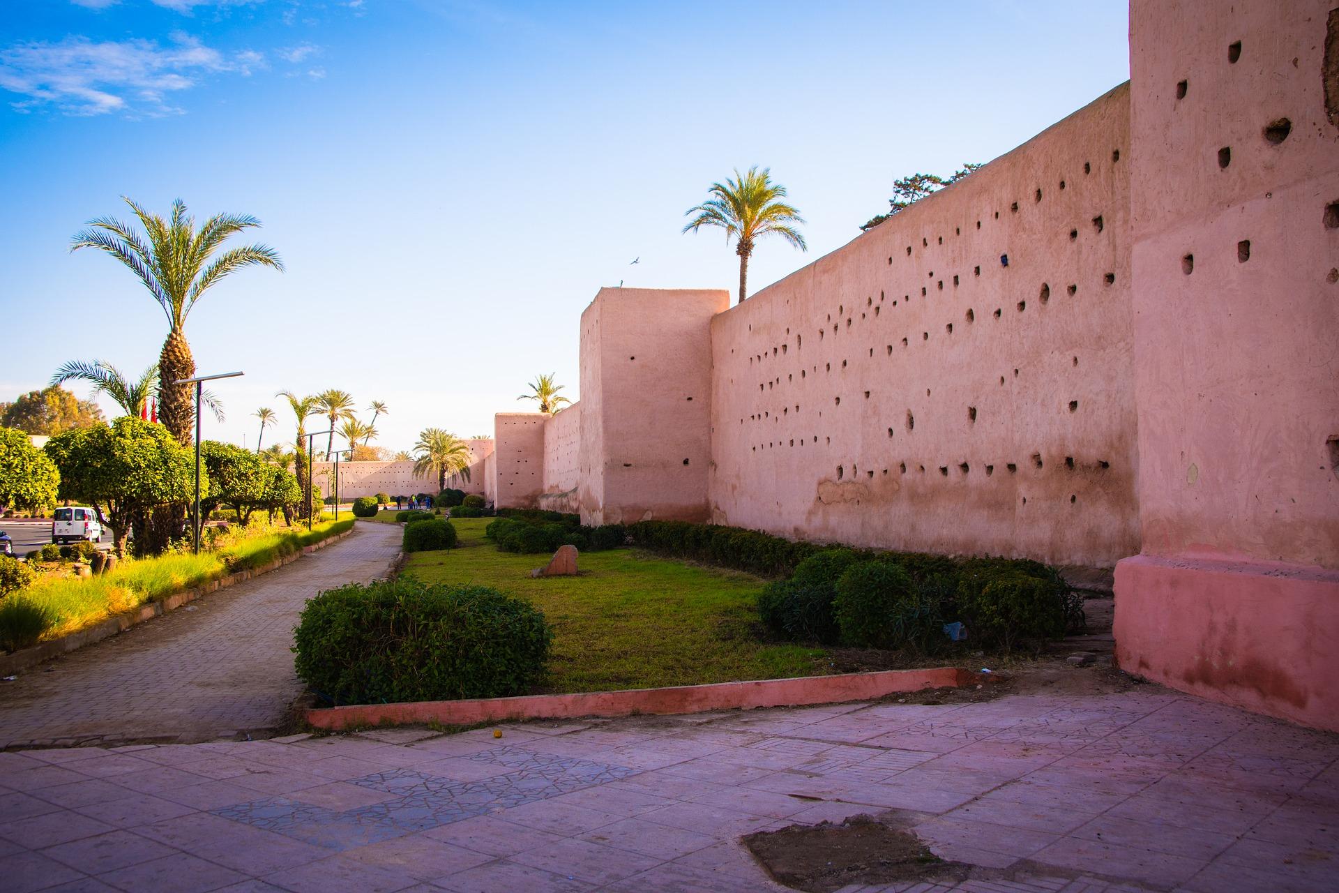 Städtereise nach Marrakesch - Die Stadtmauern von Marrakesch