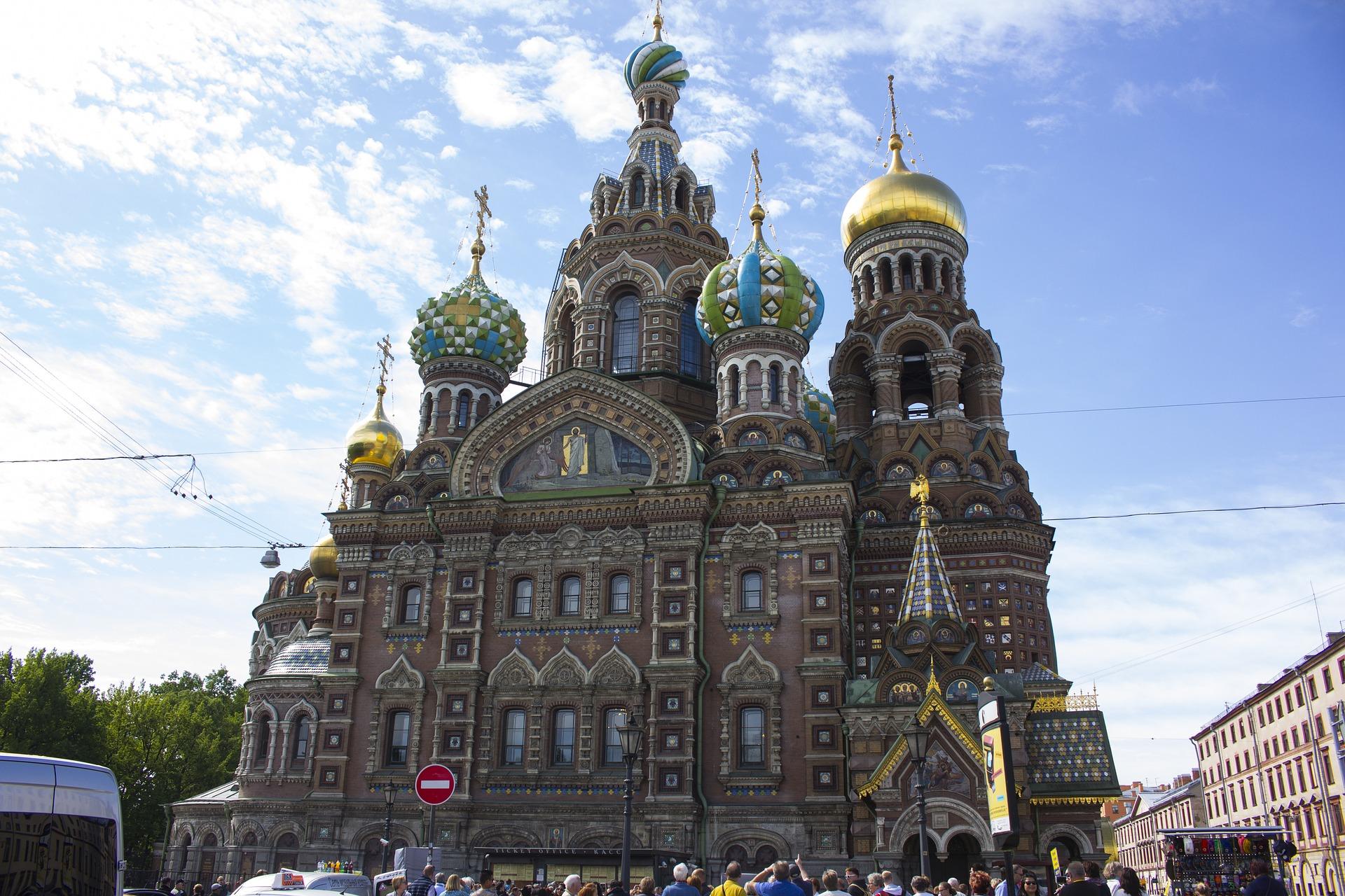 St. Petersburg mit dem Hop on Hop off Bus