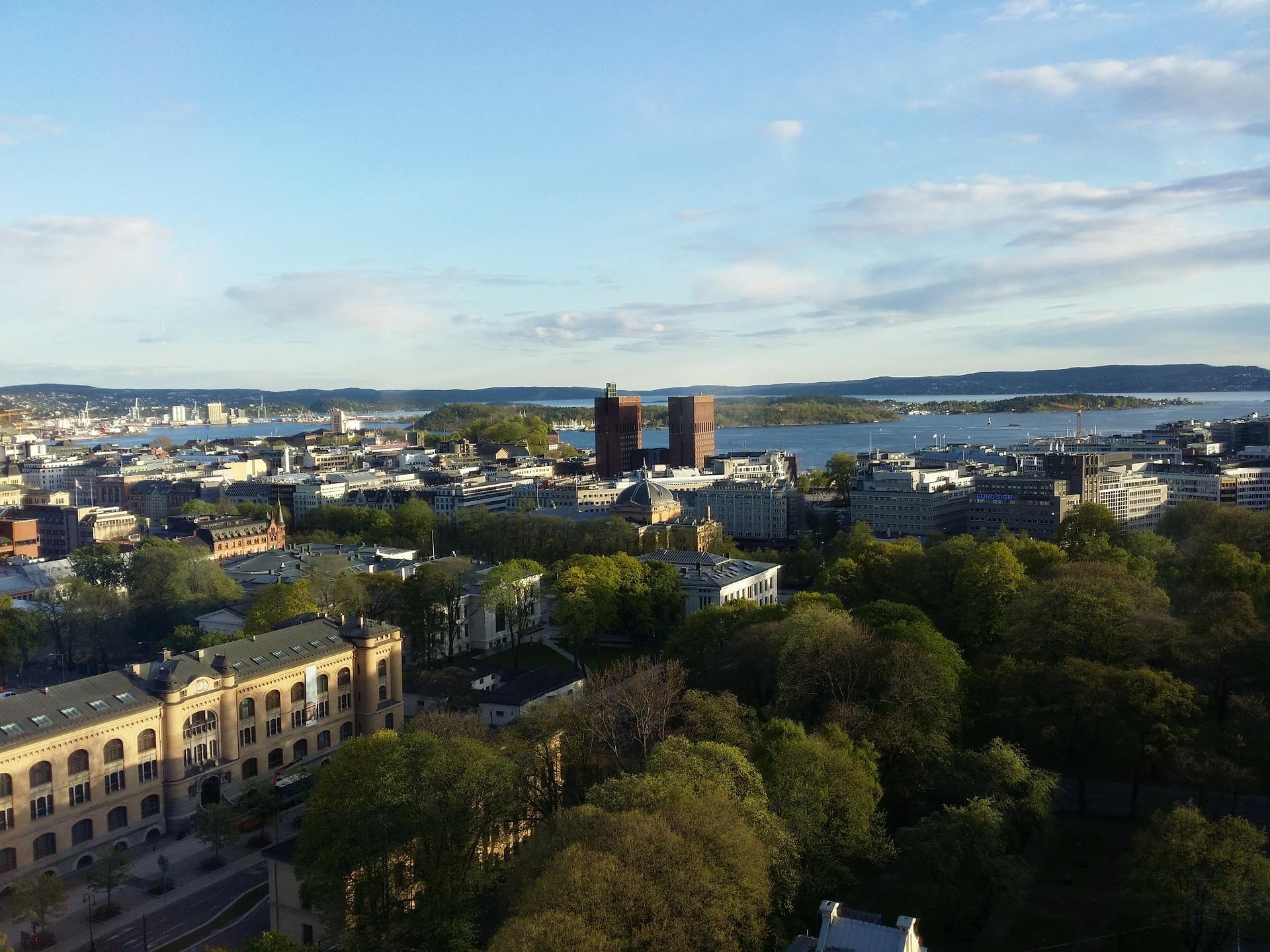 Stadt Oslo, reisen Sie in Norwegens Hauptstadt