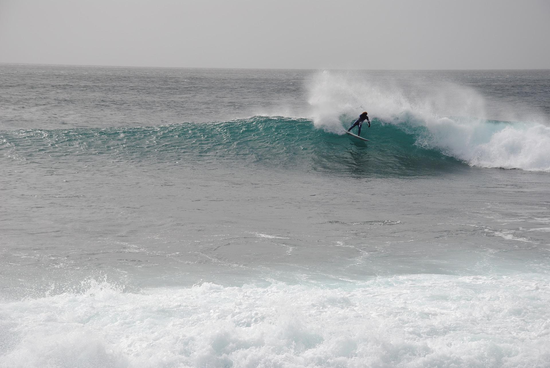 Surfen im Urlaub auf Boa Vista