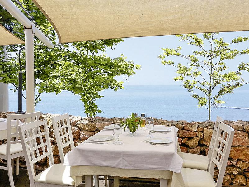 Terasse Thassos Urlaub in Griechenland eine Woche günstig ab 406,51€