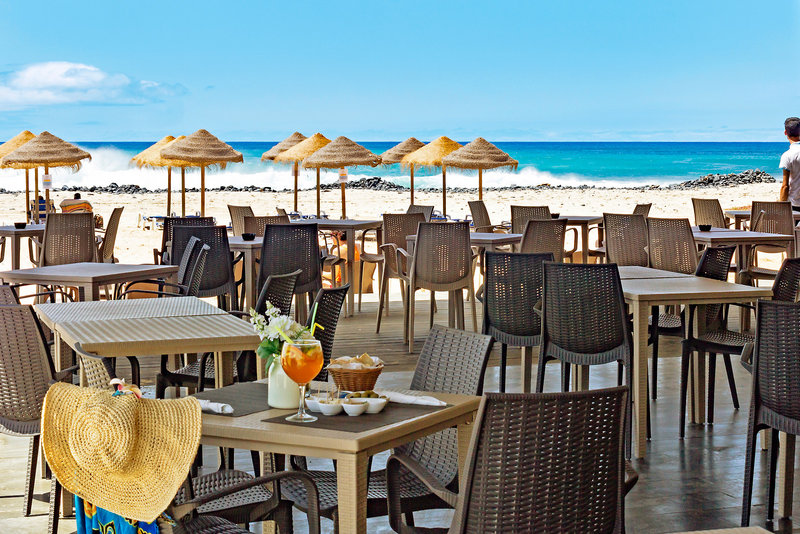 Terasse des Hotels Agua Hotels Sal vila Verde