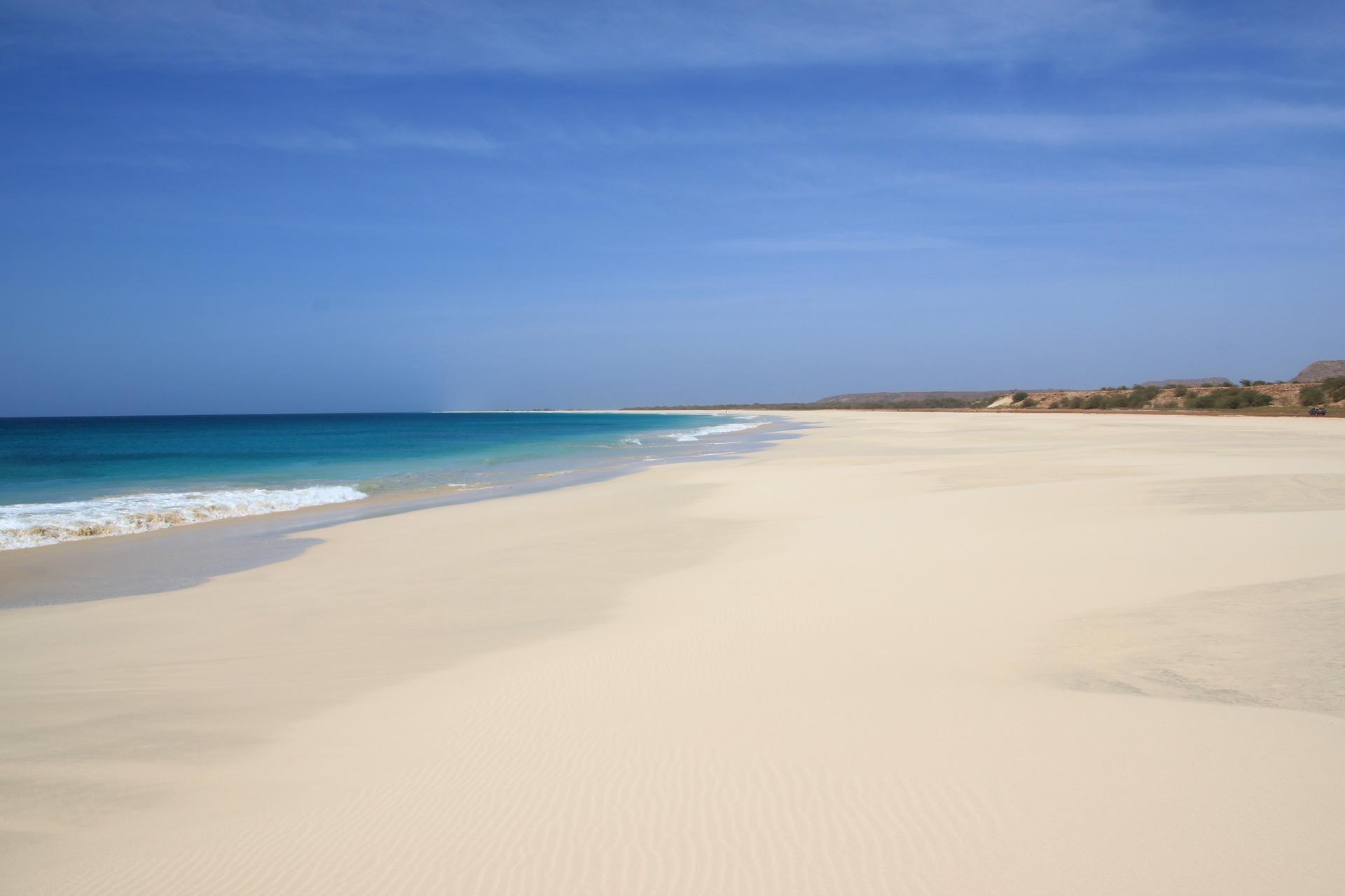 Traumstrand bei Sal Rei auf Boa Vista