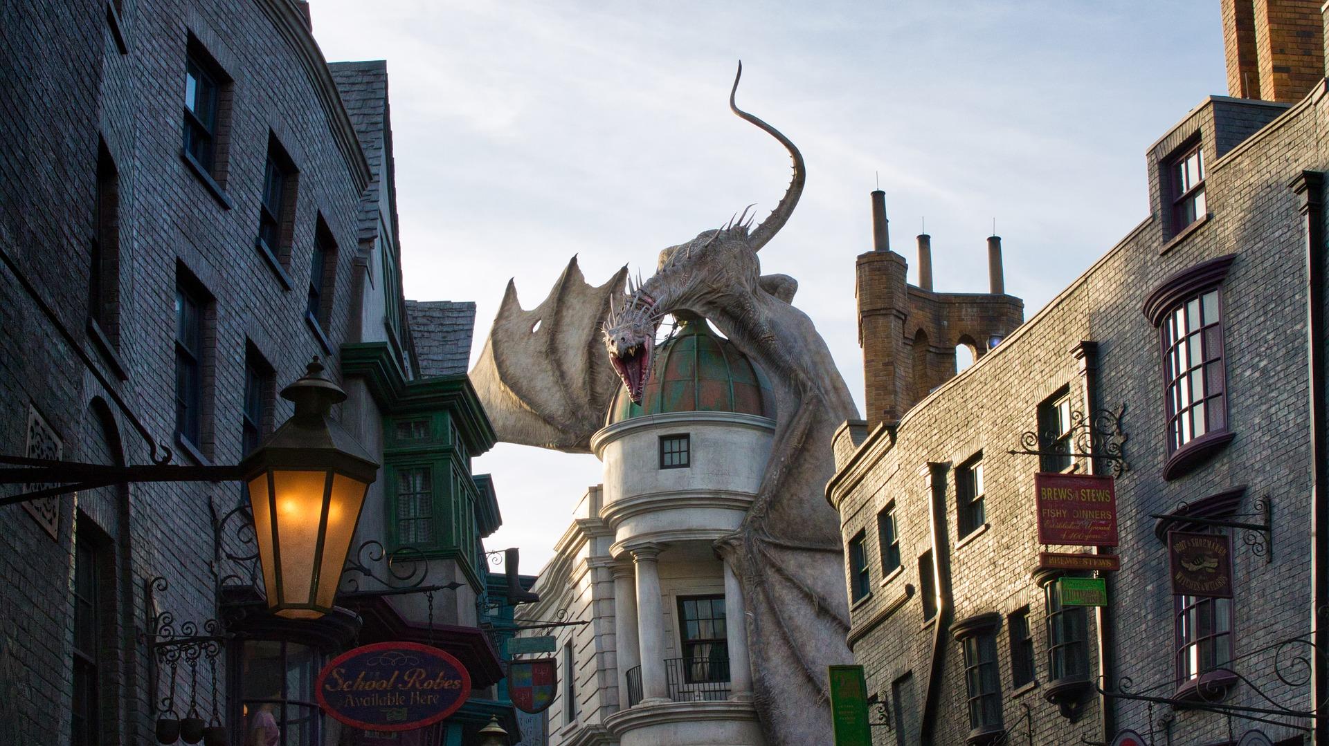 Universal Studios Reise - Tour durch die Kulissen von J.K Rowling in London - Harry Potter Schnäppchen
