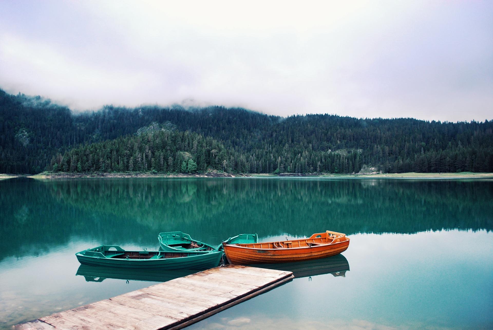 Wanderer fühlen sich in Montenegro ebenfalls wohl