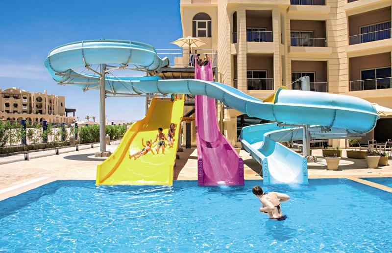 Wasserrutsche im Hote in Hurghada & Safga