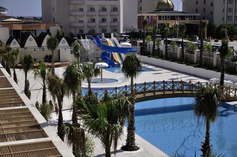 Wasserrutschen im All Inclusive Türkei Hotel