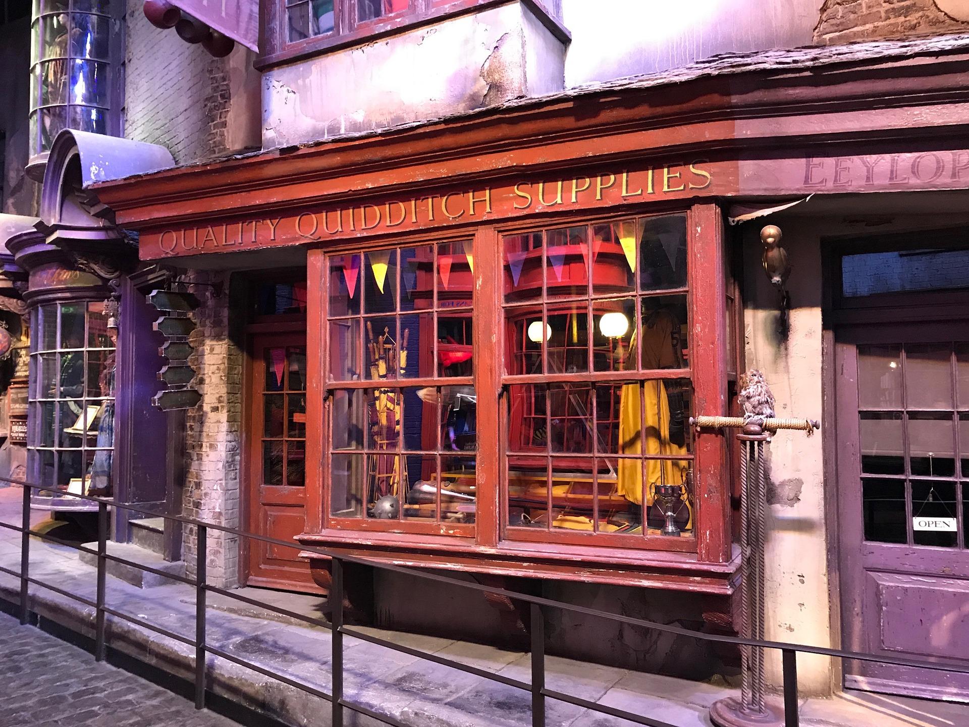 Winkelgasse Warner Bros. Reise The Making of Harry Potter Tour