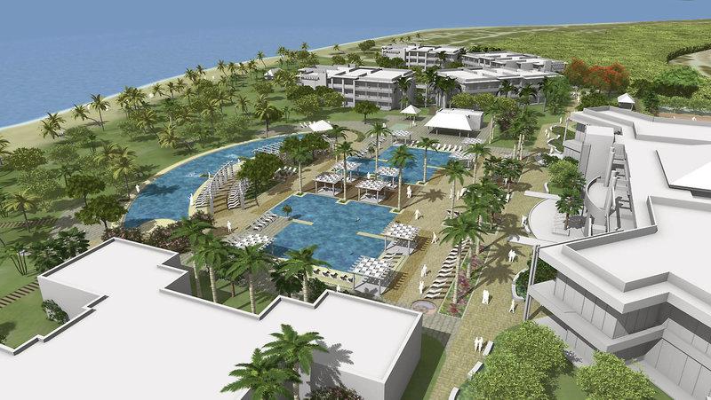 Hotel von oben Hotelzimmer Chillen auf Kuba Eine Woche All Inclusive Cayo Coco günstig ab 936,00€
