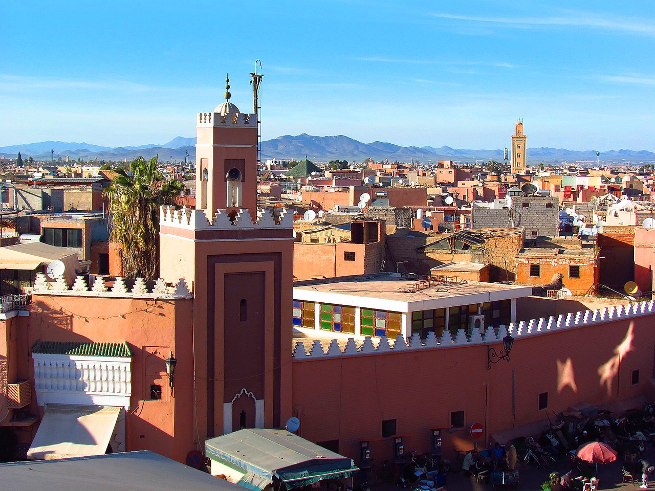 4 Sterne Hotel in Marrakesch - Halbpension