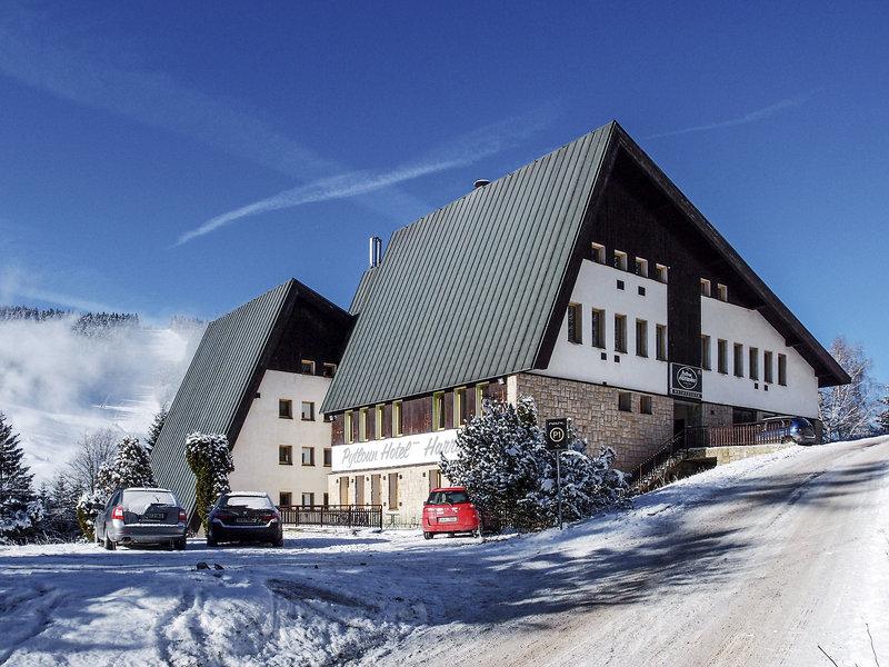 4 Sterne Pytloun Wellness Hotel Harrachov Wasserfall Mumlava in Tschechien Skiurlaub günstig buchen ab 48,00€