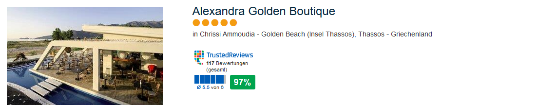 Alexandra Golden Boutique Golden Beach Thassos