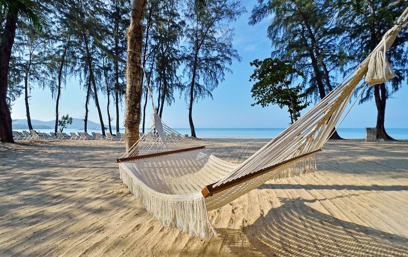 Am Strand hängen in Thailand