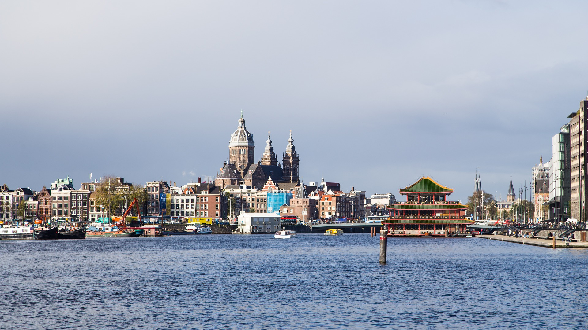 Amsterdam die Stadt gehört durch Ihre Grachten zum UNESCO - Weltkulturerbe