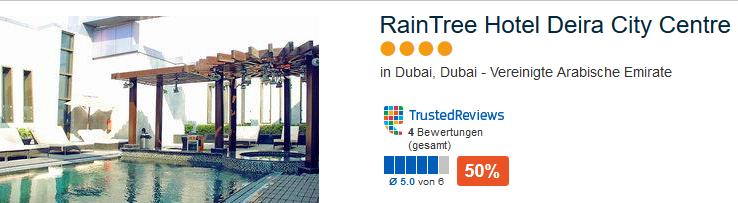 Beispiel Hotel Pauschalreise Dubai günstig