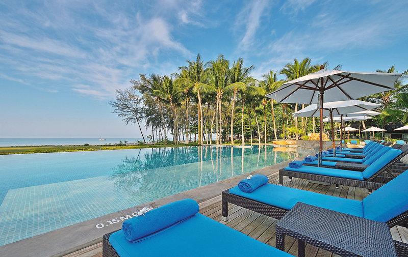 Beispiel Hotel für 100,00€ mehr erhaltet Ihr so ein Luxus Hotel mit Infinity Pool mit direkter Strandlage- wahnsinn