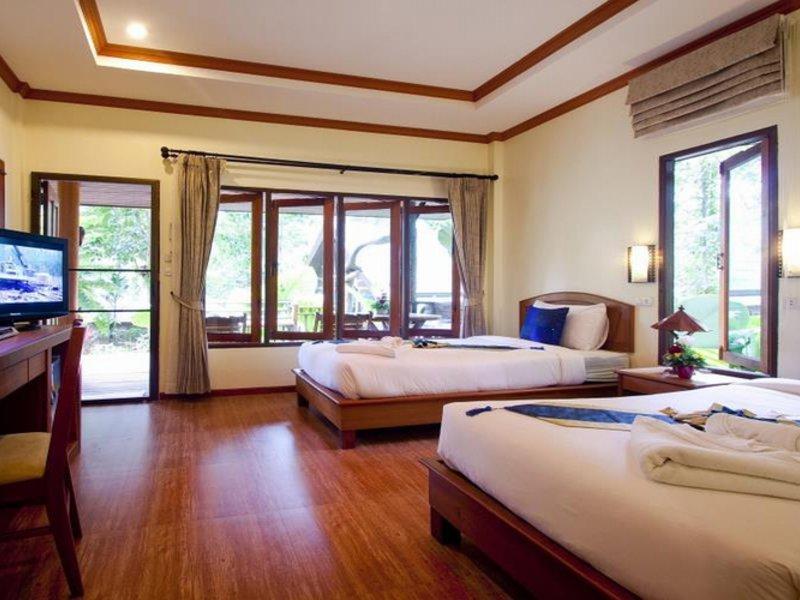 Bepsiel vom günstigsten Hotelzimmer Ao Nang Cliff View Resort
