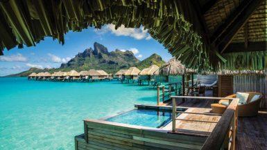 Bora Bora Reisezeit & Hotels im Südsee Atoll - beliebtese Insel Süd Pazifik