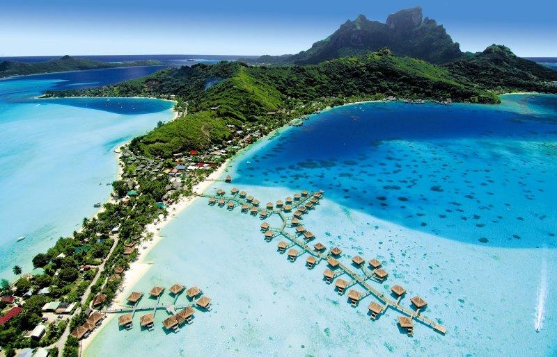 Bora Bora von oben