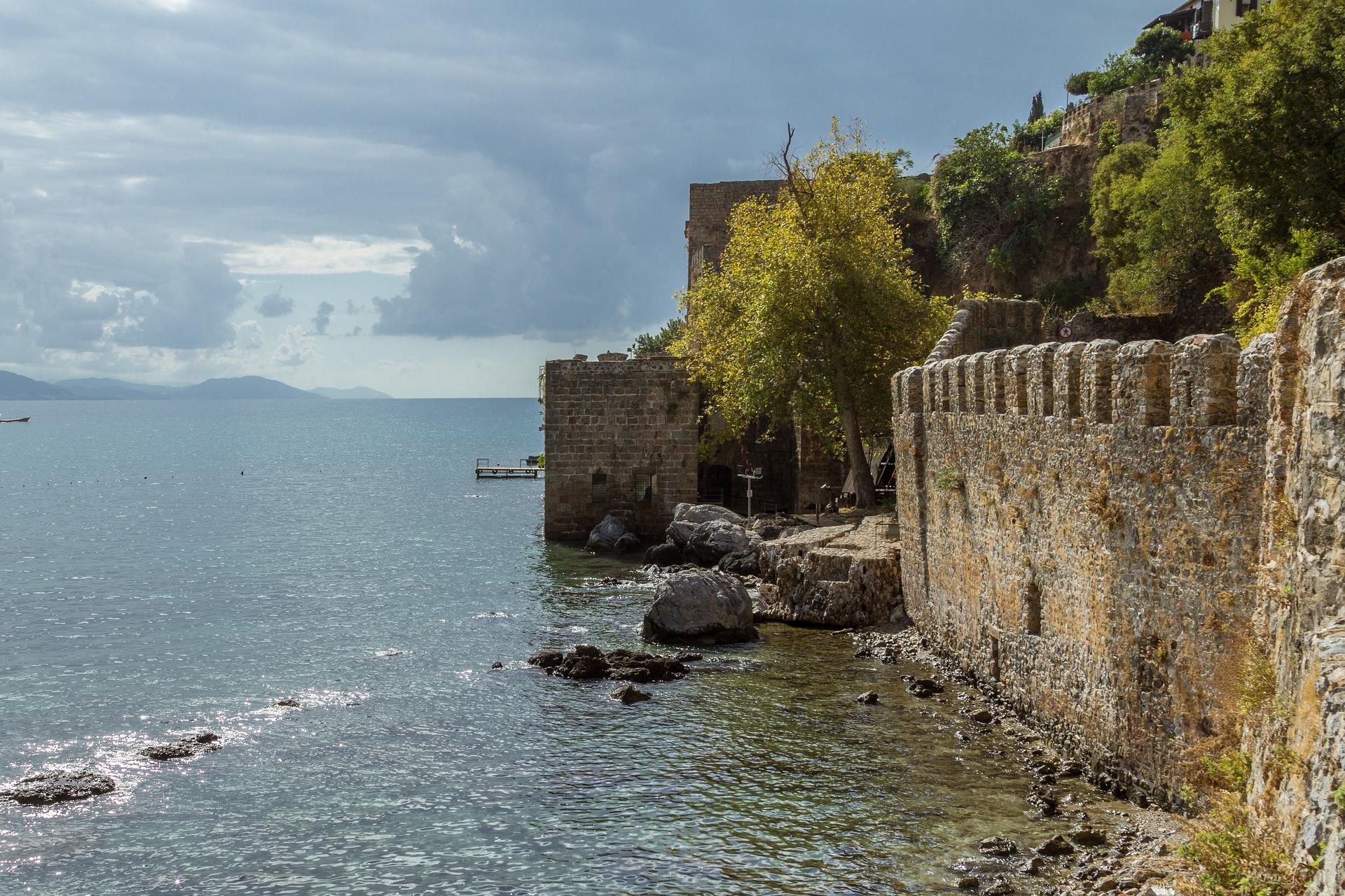 Burg in Alanya nähe der Villa Sonata