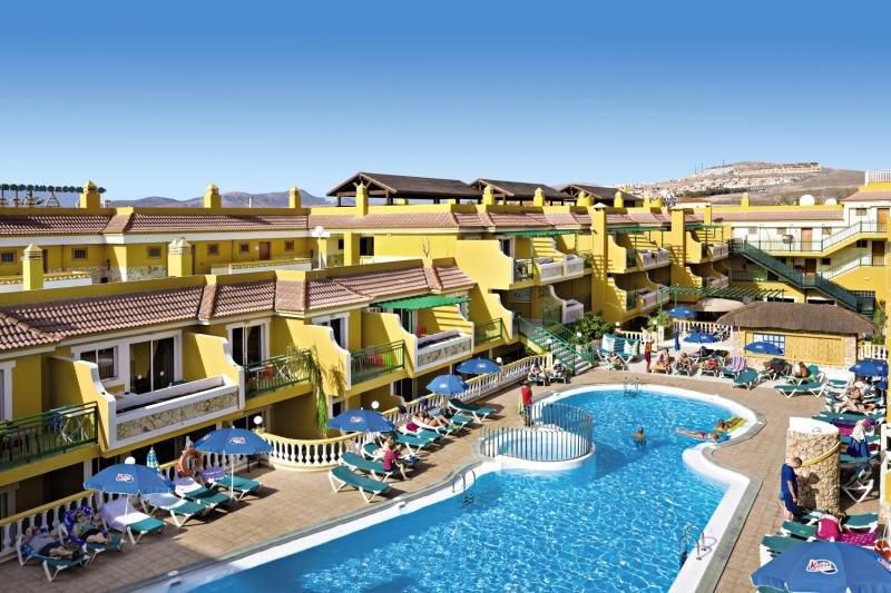 Caleta Garden auf Fuerteventura das 2,5 Sterne Hotel mit eigenen Appartments - Küche, Bad, Wohnzimmer, Schlafzimmer