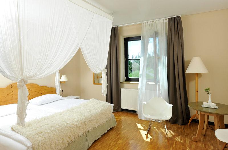 Das Zimmer im Hotel