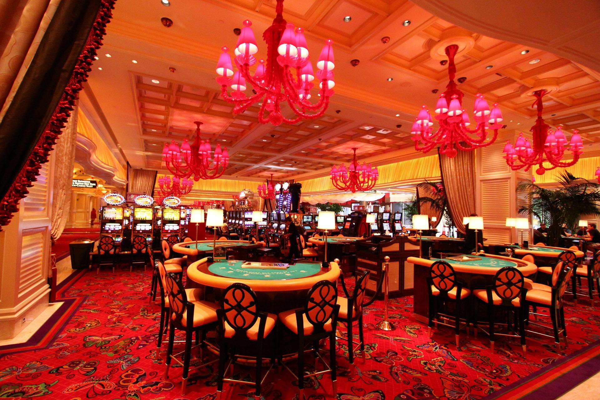 Das berühmte Wynn Casino Hotel in Las Vegas