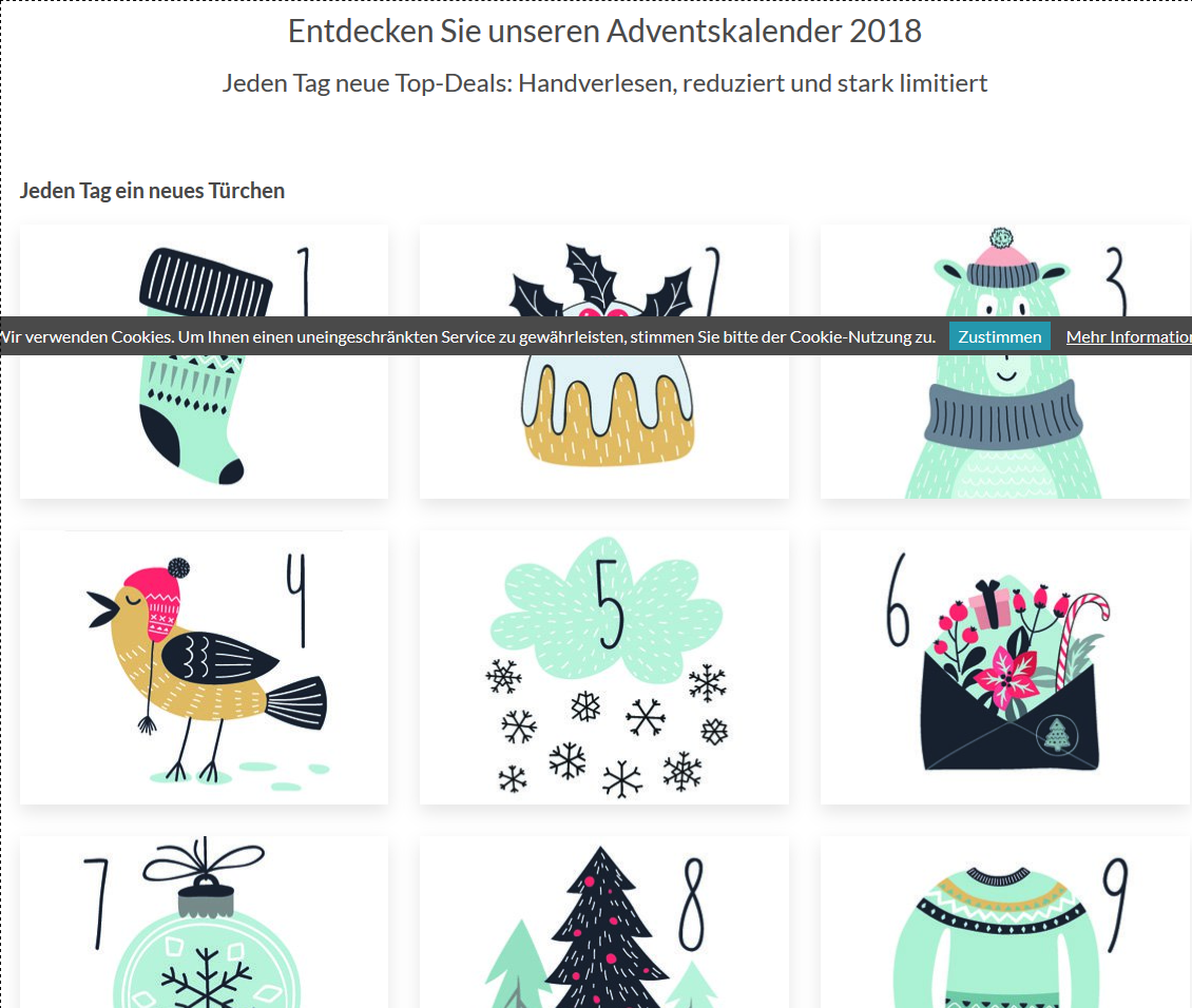 Der Animod Adventskalender