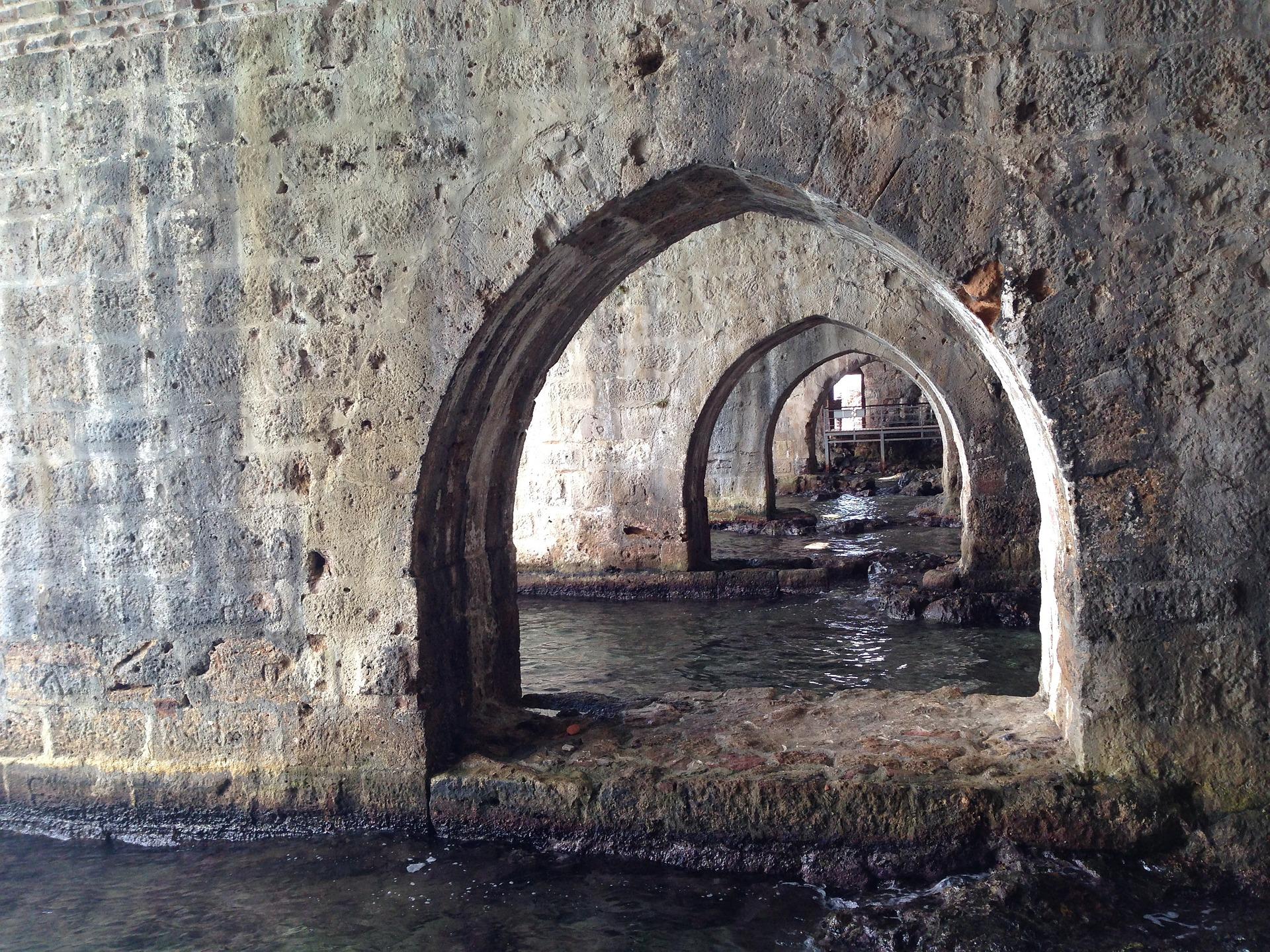 Die Burg von Alanya der Keller