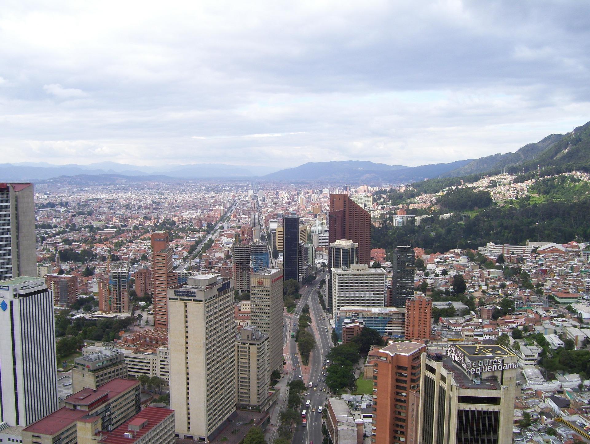 Die Haupstadt von Kolumbien mit über 3 Millonen Einwohnern