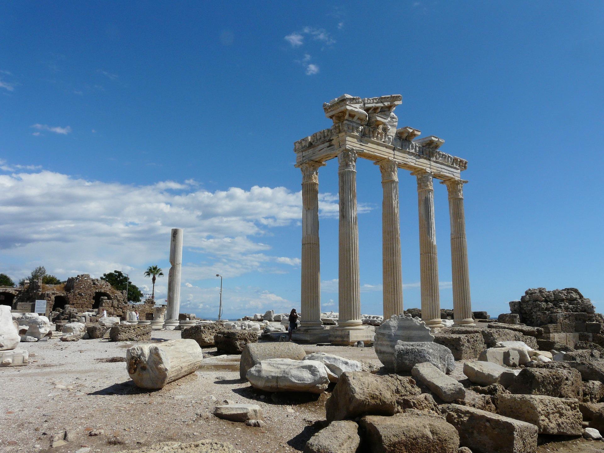 Die Ruinen der Römer - von Side