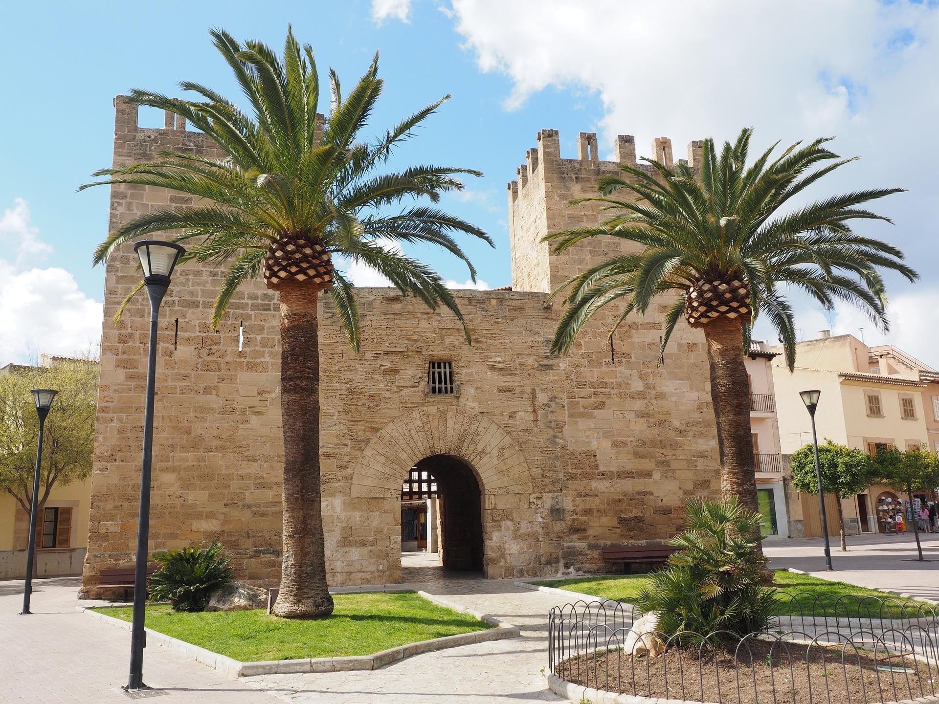 Die Stadt von Palma de Mallorca