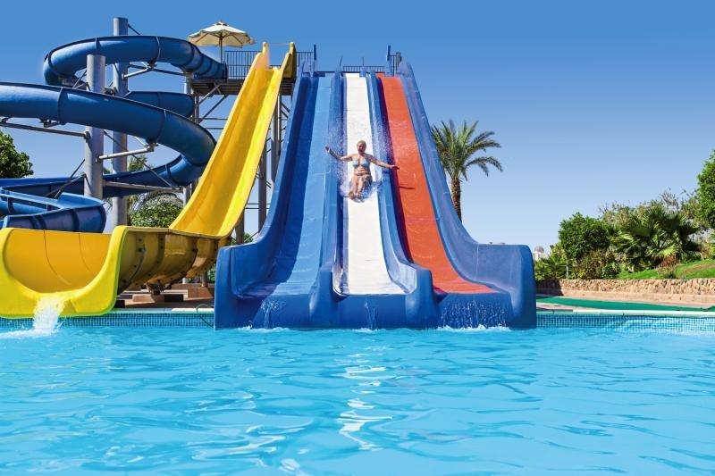 Einer dear Pools im günstigen Hotel an der Bucht des Scheichs am roten Meer