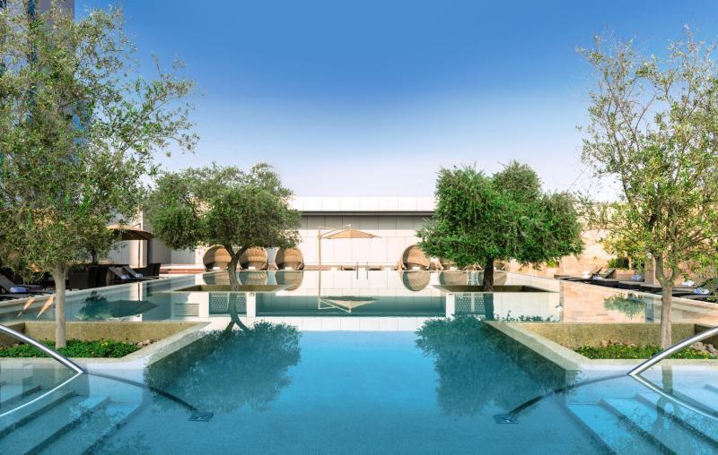 Einer der Pools vom Aloft
