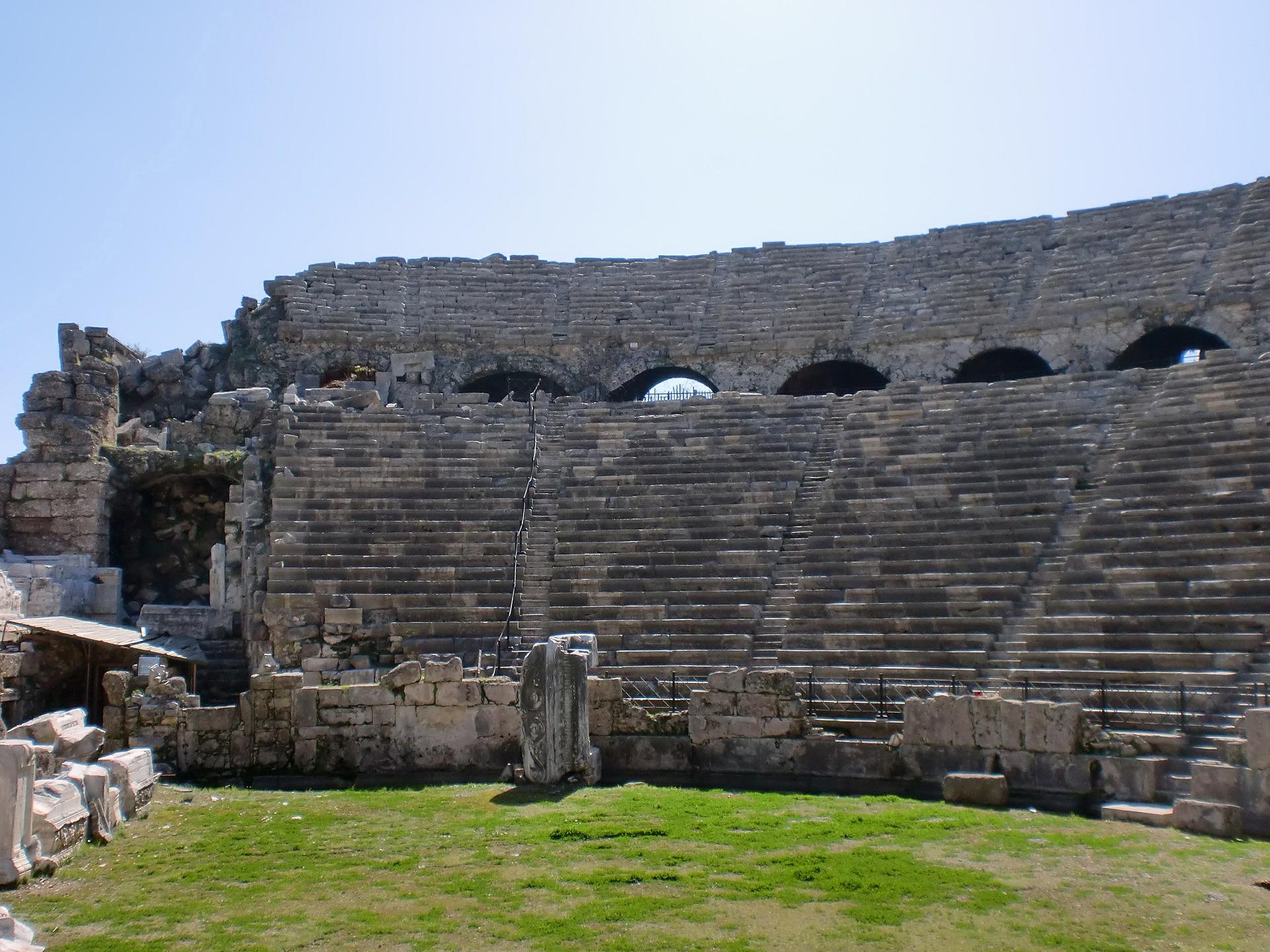 Ferien in der Türkei- Alanya's Antike schätze der Römer