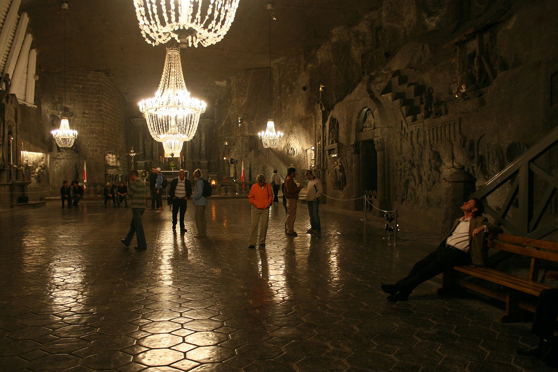 Foyer Salzbergwerke Krakau in Polen günstiger buchen ab 32,75€