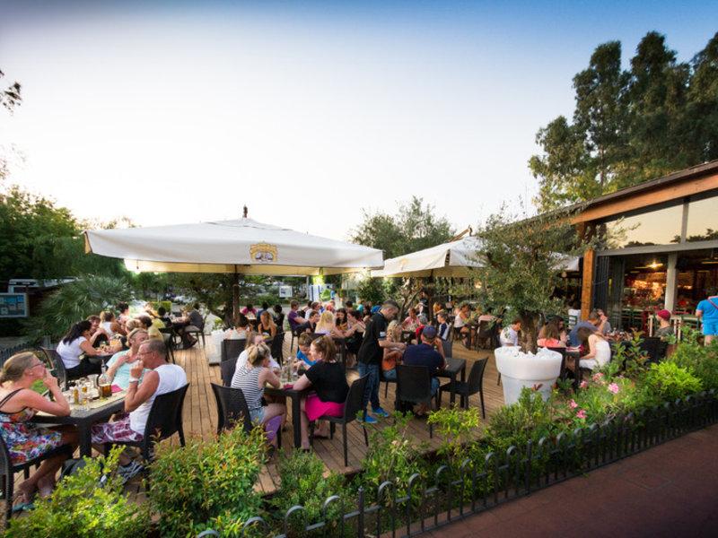 Gastronomie am Bungalow Italien in Rom