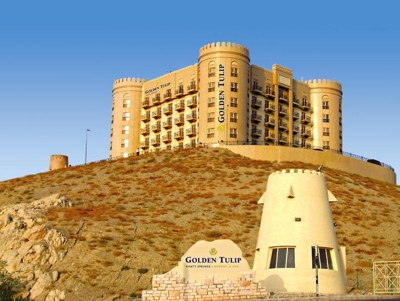 Golden Tulip Khatt Springs Resort & Spa Hotel in Ras Al Khaimah ab 18,00€ die Nacht Vereinigte Arabische Emirate