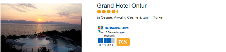 Gran Hotel Ontur in Cesme