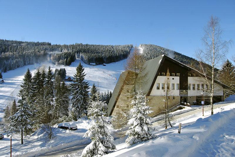 Harrachov Wasserfall Mumlava in Tschechien Skiurlaub - buchen ab 75,00€
