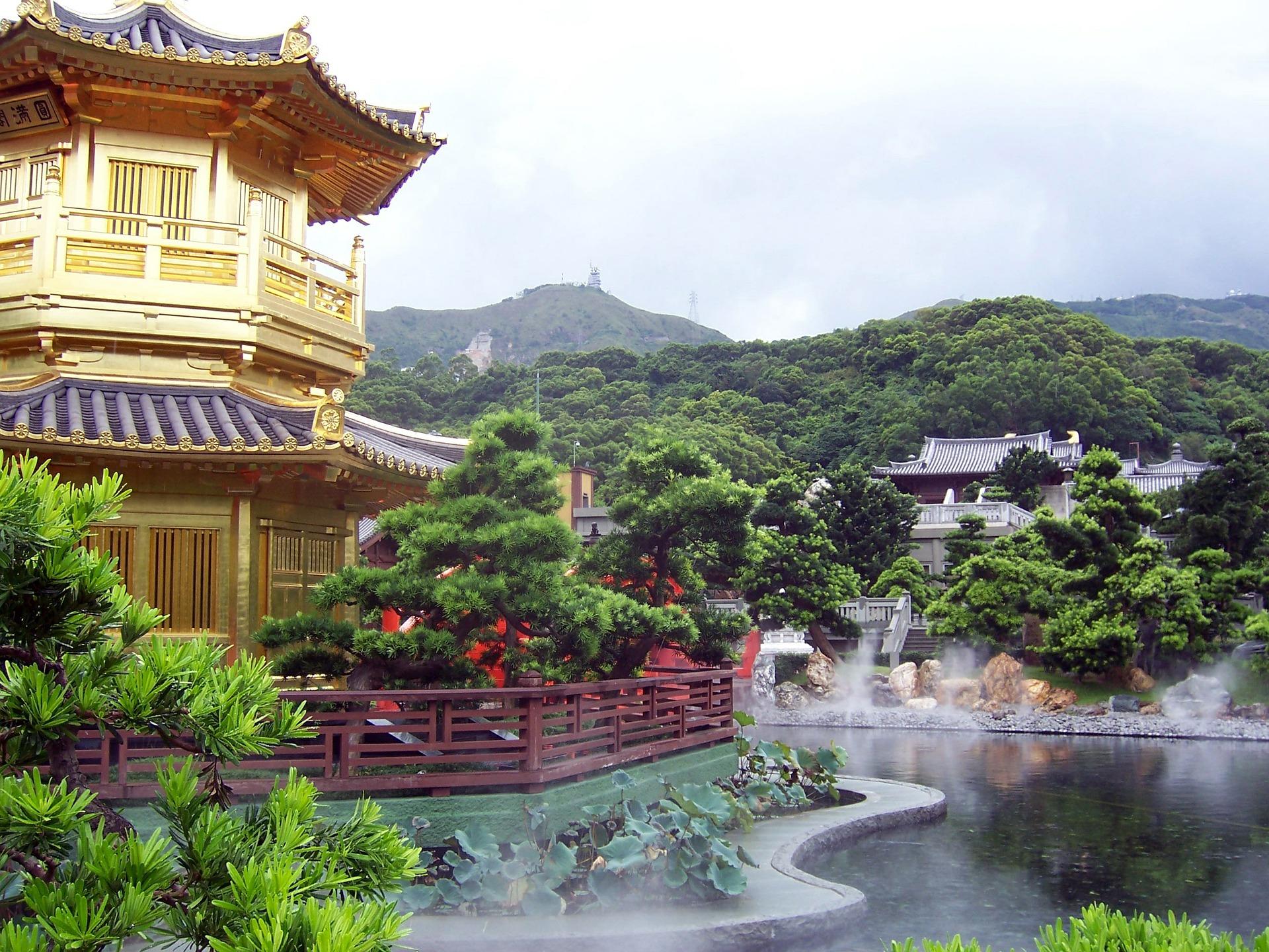 HongKong Botanischer Garten Städtereisen China