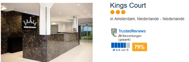 Hotel Kings Court in Amsterdam