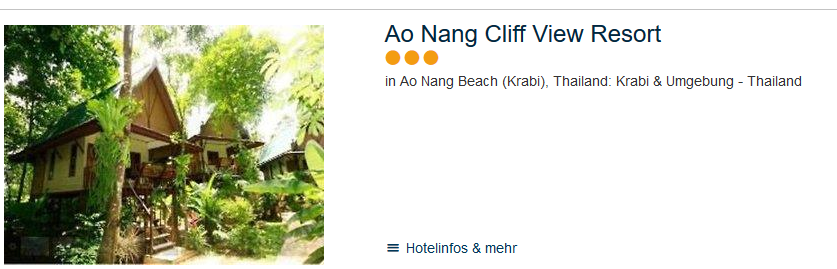 Hotel am Ao Nang Beach